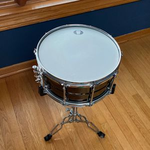 """Ludwig Black Magic"" Snare Drum (Dark Brown, 14x7 Inch) for Sale in Chicago, IL"