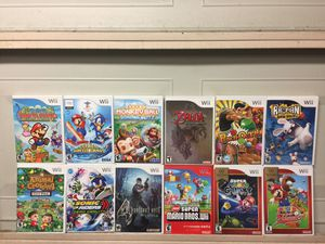 Nintendo Wii Games For Sale *Prices Below* for Sale in Austin, TX