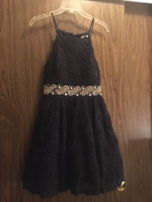 Party/wedding/prom dress size 7 navy blue for Sale in Redmond, WA