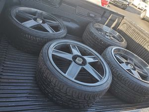 20 inch rims and tires for Sale in Mesa, AZ