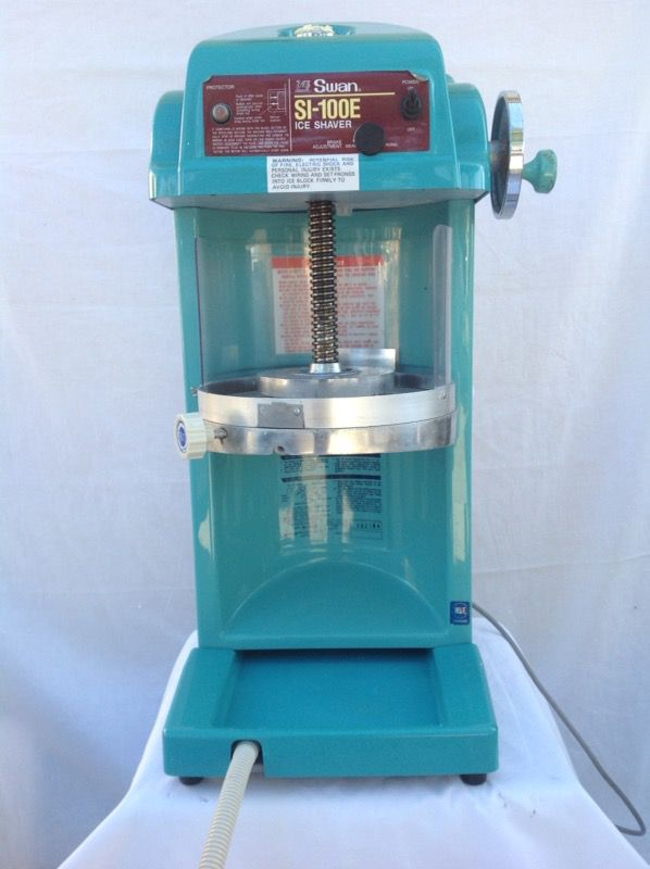 Swan Si 100e Ice Shaver For Sale In Simi Valley Ca Offerup