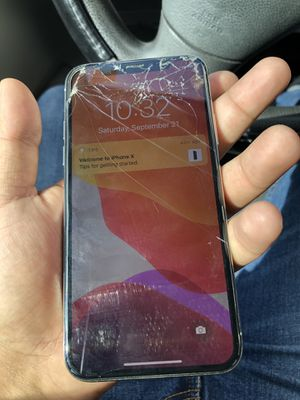Iphone X Unlocked for Sale in Houston, TX