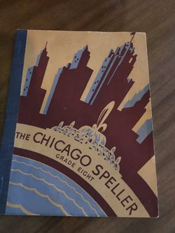 Vintage 1941 Text Book The Chicago Speller Grade Eight . for Sale in Punta Gorda,  FL