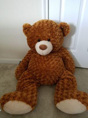 Large Teddy Bear, stuffed bear for Sale in Katy, TX