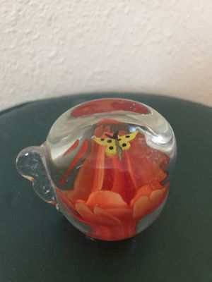 Collectible glass paperweight for Sale in Fresno, CA
