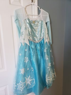 Authentic Elsa costume girl9/10 for Sale in Clermont, FL