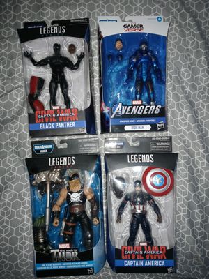 Marvel Legends($80 for all) for Sale in San Antonio, TX
