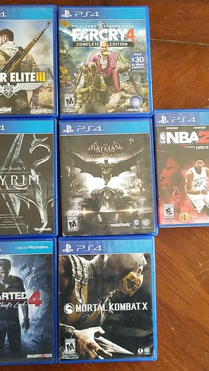 SELL/TRADE PS4 GAMES for Sale in Fort Leonard Wood, MO