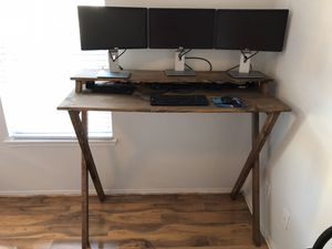"""Custom Stand Up Desk - 56"""" Wide, 45"""" Tall, 24"""" Deep for Sale in Richmond, TX"""