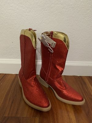 DISNEY Red boots for Sale in Palmdale, CA