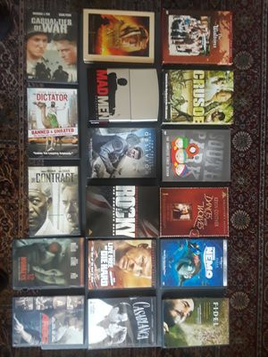 Never Used DVD's Collections + Free Classic oldies Music CD's for Sale in Philadelphia, PA