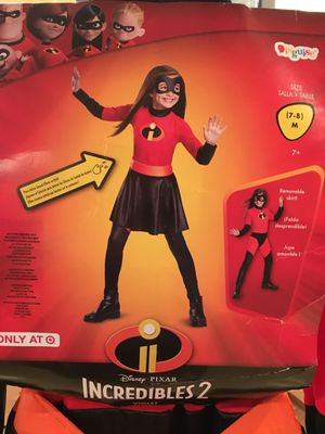Incredibles Violet Halloween Costume Medium 7-8 for Sale in Thornton, CO