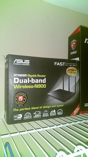 Asus dual band router orginally $250 in original box and instructions Manuel for Sale in Miami, FL