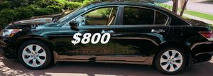 $8OO URGENT I'm selling my family's car 2OO9 Honda Accord Sedan Runs and drives great! Clean title!!! for Sale in Grand Rapids, MI