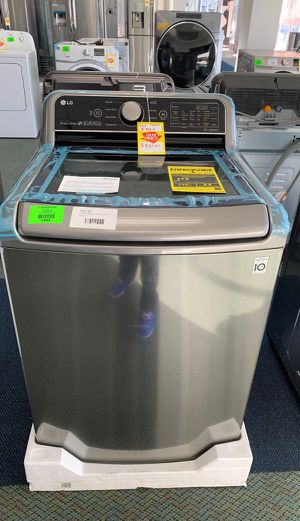 BRAND NEW!! LG WASHER AND DRYER SET!! 7W for Sale in Paramount, CA