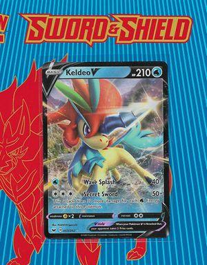 Pokemon: Keldeo-V #53 from Sword & Shield Base Set [2020]... PLUS Collector's Lot for Sale in Chesilhurst, NJ