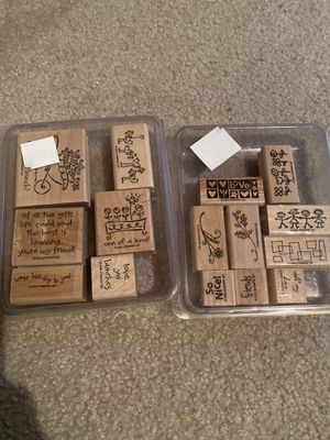 Stampin Up Stamp Sets for Sale in Shorewood, IL