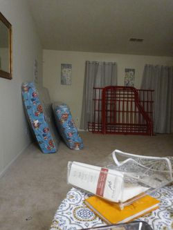 Bunk Bed/ Red for Sale in Stone Mountain, GA
