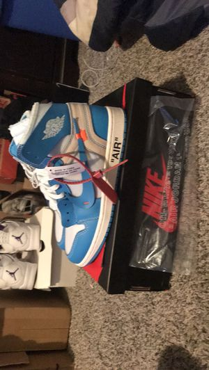 Off white Jordan 1 unc for Sale in Milwaukee, WI