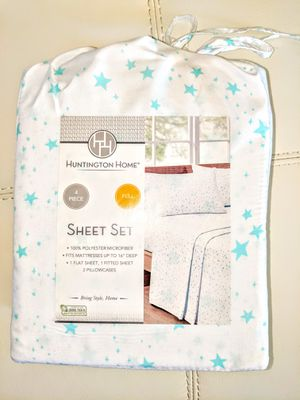Brand New 4 Sheet Set size Full for Sale in Aldie, VA