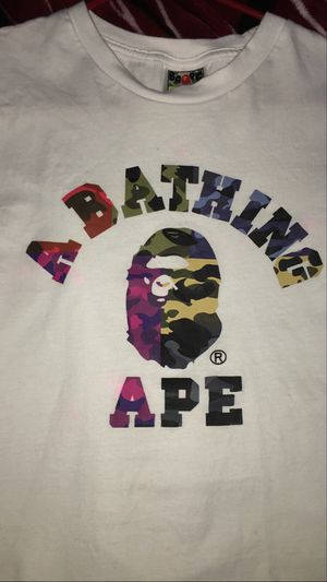 Bape college tee size M for Sale in Kent, WA