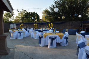 Tables chairs canopies for Sale in Riverside, CA