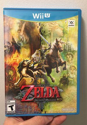 Zelda Twilight Princess HD Wii U system Nintendo complete for Sale in Atlanta, GA
