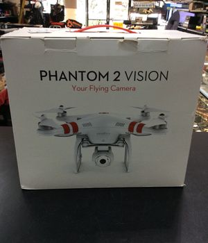 DJI Phantom 2 Vision Drone with Remote,Battery Charger and Extra Propellers ( NO BATTERY ) for Sale in Boca Raton, FL