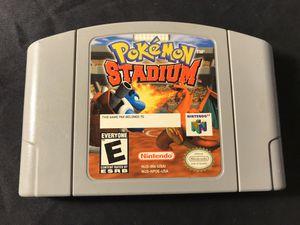 Authentic Pokémon Stadium Nintendo 64 N64 for Sale in Bakersfield, CA