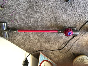 Gently used Dyson cordless v6 Motörhead+ vacuum for Sale in West Menlo Park, CA