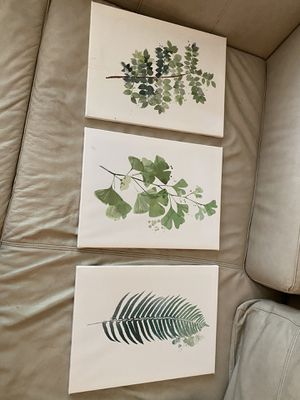 3 picture paintings for Sale in North Ridgeville, OH