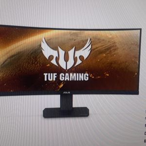 "Asus TUF Gaming VG35VQ 35"" CURVED ULTRA WIDE MONITOR for Sale in Grand Prairie, TX"