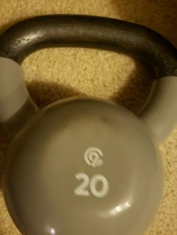 20 Lb Kettlebell for Sale in Mount Clare,  WV