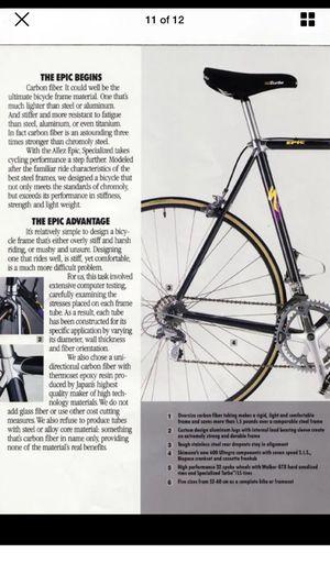 Specialized Allez Epic road bike for Sale in Wilmington, DE