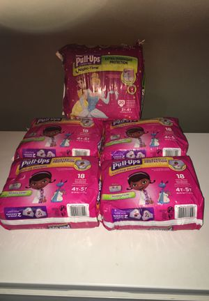 Pull up Huggies size 4T-5T for Sale in Spring Valley, CA