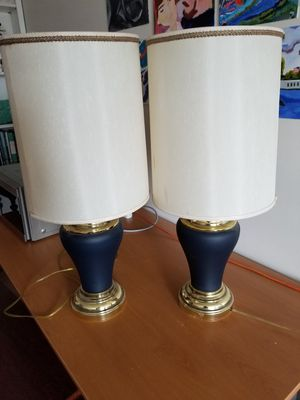 Matching lamps. for Sale in Pittsburgh, PA