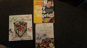 3 cookbooks for Sale in Glendora, CA