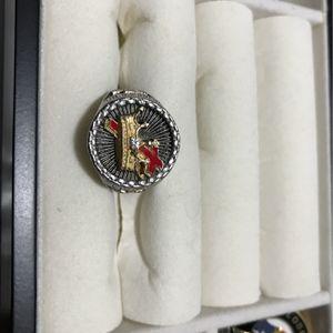 925 Silver 18K GP Masonic Knights Templar Ring for Sale in North Attleborough, MA