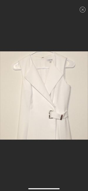 Calvin klein White Dress for Sale in The Bronx, NY