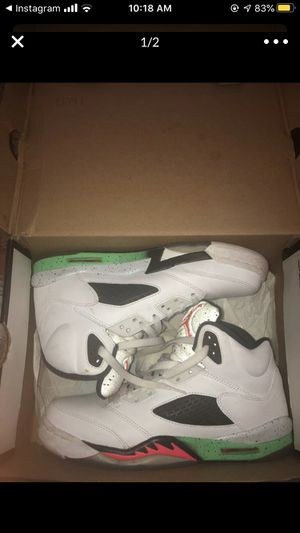 Poison green 5s for Sale in Charlotte, NC
