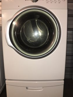 Samsung Front Load Dryer W/ Pedestal, WARRANTY! DELIVERY AVAILABLE! 🚚 for Sale in Keizer,  OR