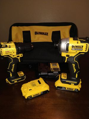 DeWalt Brushless 20V Atomic Drill and Impact for Sale in Chula Vista, CA