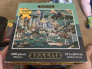 8 dowdle puzzles 500 to 1000 piece for Sale in Puyallup, WA