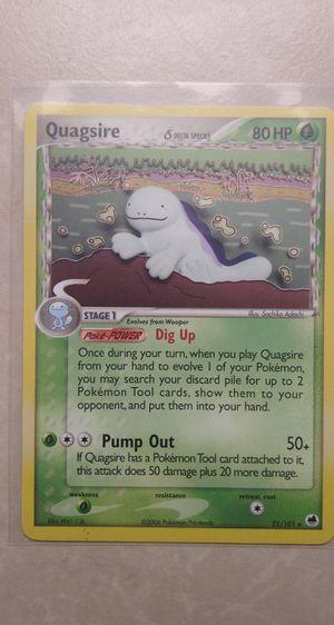 Quagsire Pokemon Card***Read Description*** for Sale in Palm Bay, FL