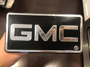 GMC Hitch Cover for Sale in Buffalo Grove, IL