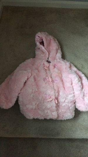Pink fur jacket for Sale in Olney, MD