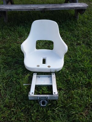 Captains Chair with Fishing Rod Gimbal and Mount for Sale in Hollywood, FL