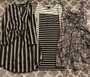 H&M Black And White Dress Bundle for Sale in Montgomery,  PA