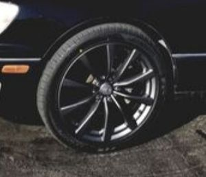 19 inch rims with with brand new tires for Sale in Fresno, CA