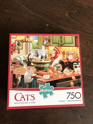 Buffalo games Cats puzzle 750 pc for Sale in Weehawken, NJ